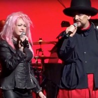 Cyndi Lauper and Boy George Duet on 'Girls Just Wanna Have Fun' – WATCH