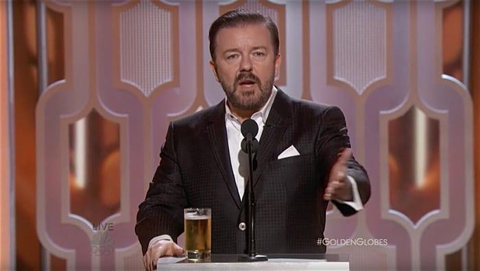 Ricky Gervais Golden Globes