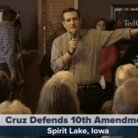 Ted Cruz Bashes Trans Kids in Iowa, Names Anti-Gay Bigot Steve King Campaign Co-Chair