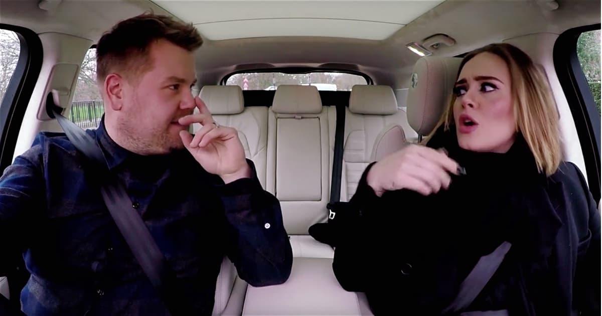 Adele Carpool Karaoke