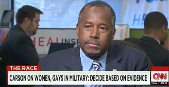 Ben Carson gays