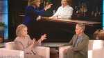 Hillary Clinton Ellen