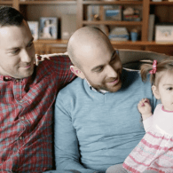 Gay Dads Share Heartwarming Story of Love at First Sight in Hallmark Valentine's Day Ad – WATCH