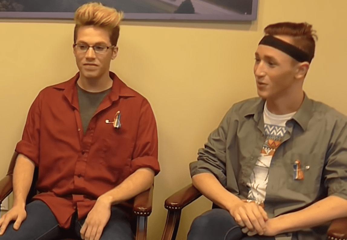 Teen gay straight
