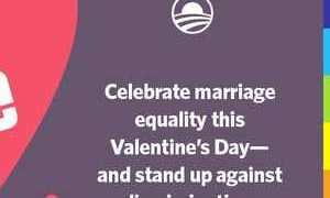obama valentine's day