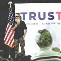 Duck Dynasty's Phil Robertson Calls Gay Marriage 'Evil, Wicked, Sinful' in Intro for Ted Cruz at Iowa Rally: WATCH