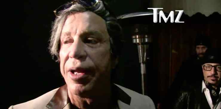 Mickey Rourke gay