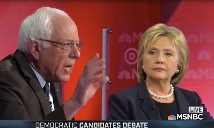Bernie Sanders Hillary Clinton artful smear
