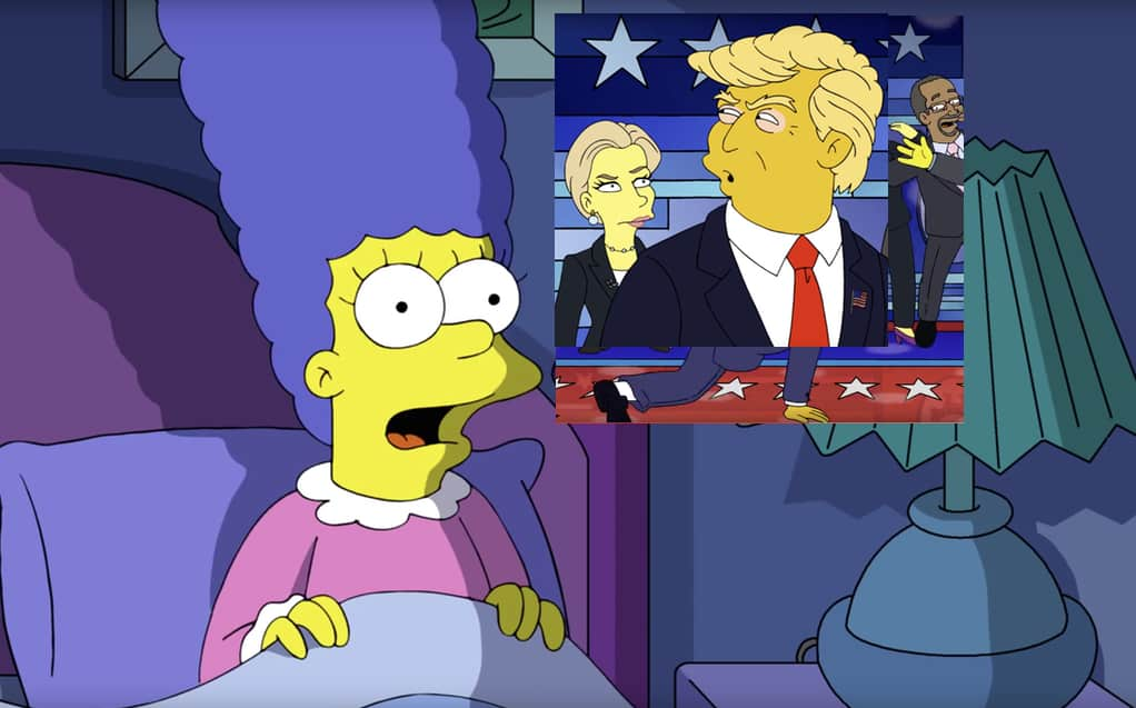 gay Simpson character