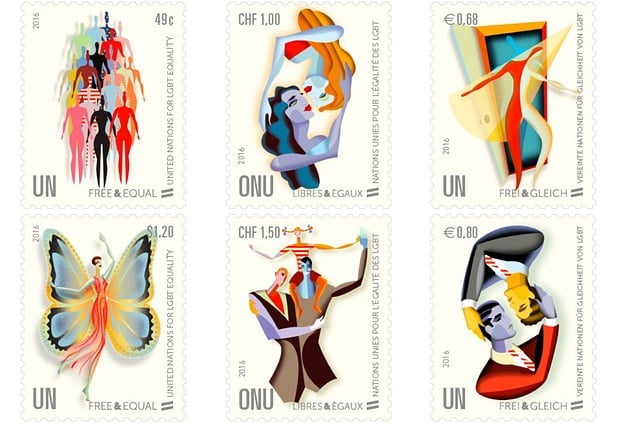 LGBT stamps
