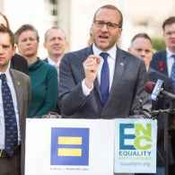 NC Gov. Pat McCrory Meets with HRC President Chad Griffin & LGBT Rights Activists – VIDEO