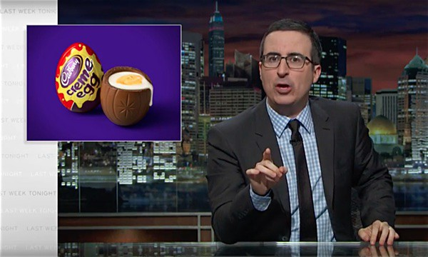 John Oliver Cadbury Cream eggs