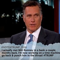 Mitt Romney Reads Mean Tweets from Donald Trump and His Supporters: WATCH