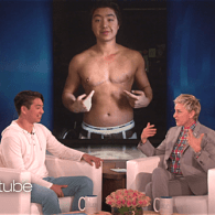 Ellen Celebrates First Transgender Male to Compete on NCAA Division 1 Men's Team in Any Sport – WATCH