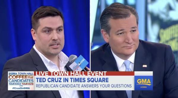 Gay Republican Ted Cruz