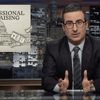 John Oliver Dives Into the F*cked Up and 'Beyond Broken' System of Congressional Fundraising – WATCH
