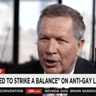 John Kasich to LGBT People on Discrimination: 'Get Over It' – VIDEO