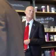 Florida Governor Rick Scott Made an Ad Attacking the Woman Who Heckled Him at Starbucks: WATCH