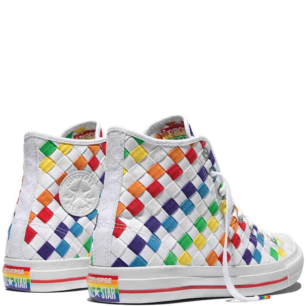e26d164cbce3c6 Converse Just Released Its New Gay Pride Sneakers - PHOTOS ...