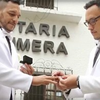First Gay Couple Married in Colombia: WATCH