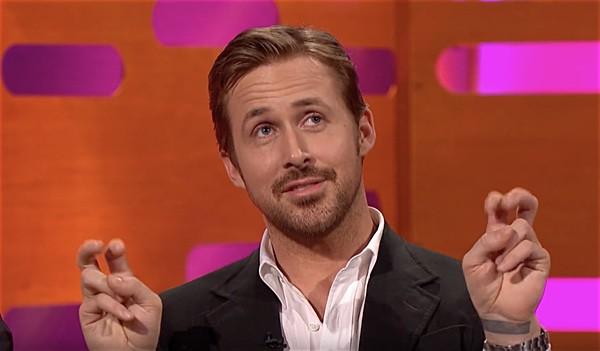 Ryan Gosling licked