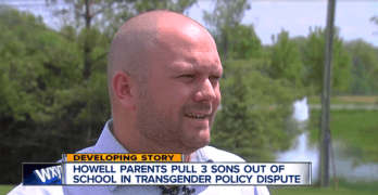 michigan dad transgender