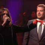 anne hathaway james corden