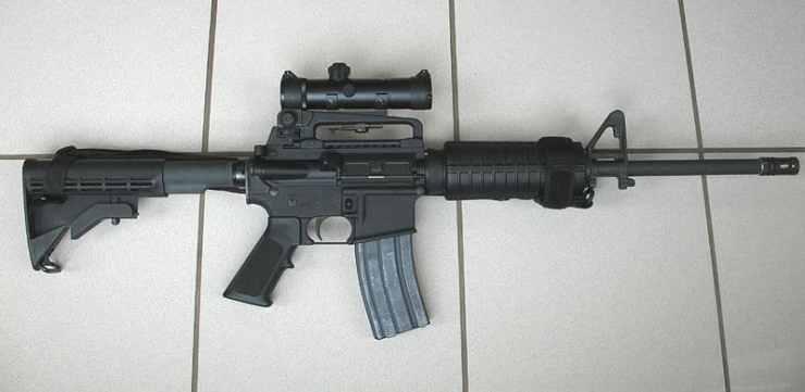 AR-15 gun control