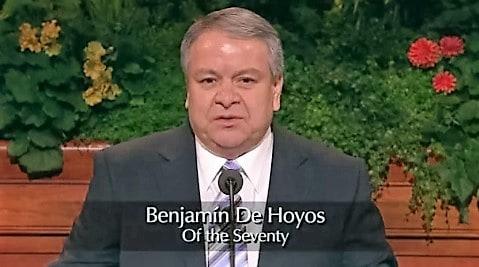 Benjamin De Hoyos Mormon Church Mexico