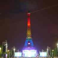 WATCH LIVE: The Eiffel Tower Lit Up in Rainbow Colors For Orlando