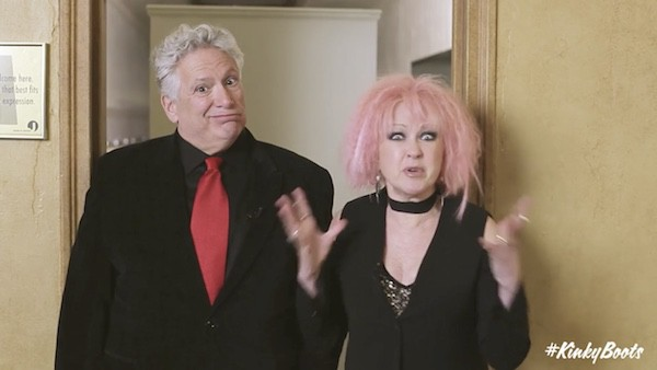 Harvey Fierstein Cyndi Lauper