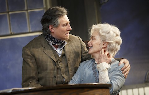 Jessica Lange and Gabriel Byrne in 'Long Day's Journey Into Night'