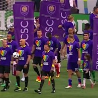 The First Sporting Event in Orlando Since the Shooting Was Full of Emotion: WATCH