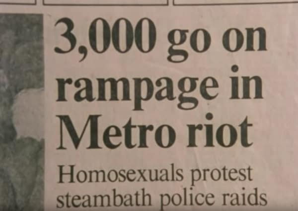 Toronto gay bathhouse raids