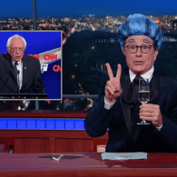 Stephen Colbert Bids Farewell to Bernie Sanders, 'Who Kept Pretending Not To Be Dead' – WATCH