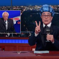 Stephen Colbert Bids Farewell to Bernie Sanders, 'Who Kept Pretending Not To Be Dead' – WATCH