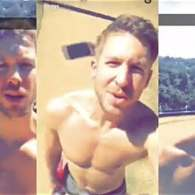 A Shirtless Calvin Harris Wants You to Know That 'You're a Plant' – WATCH