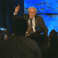 Bernie Sanders Rebukes Angry California Delegates: 'It Is Easy To Boo' – WATCH