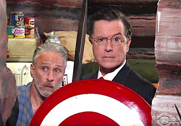 Jon Stewart Stephen Colbert