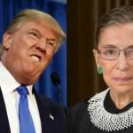 RBG Trump apologizes