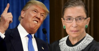 RBG Trump apologizes