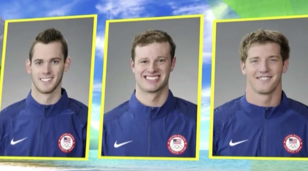 US Swimmers Ryan Lochte rio
