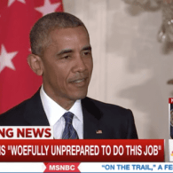 Obama: Trump Keeps on Proving He's Unfit to Be President – WATCH