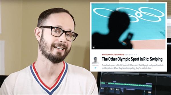 grindr olympics