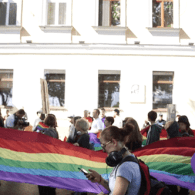 Ukrainian City of Odessa Holds First LGBT Pride March – WATCH