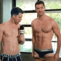 Boxers or Briefs? Guys With Hairy Chests Drop Their Shorts and Spill – WATCH