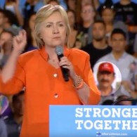 Pulse Nightclub Shooter's Father Spotted in Crowd at Hillary Clinton Rally: WATCH