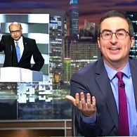 John Oliver Blasts Trump's Reaction to Khizr and Ghazala Khan: WATCH