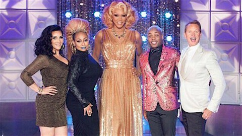 Raven Symone guest judge on RuPaul's Drag Race Season 2