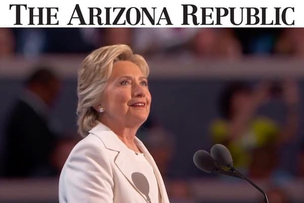Arizona Republic Hillary Clinton